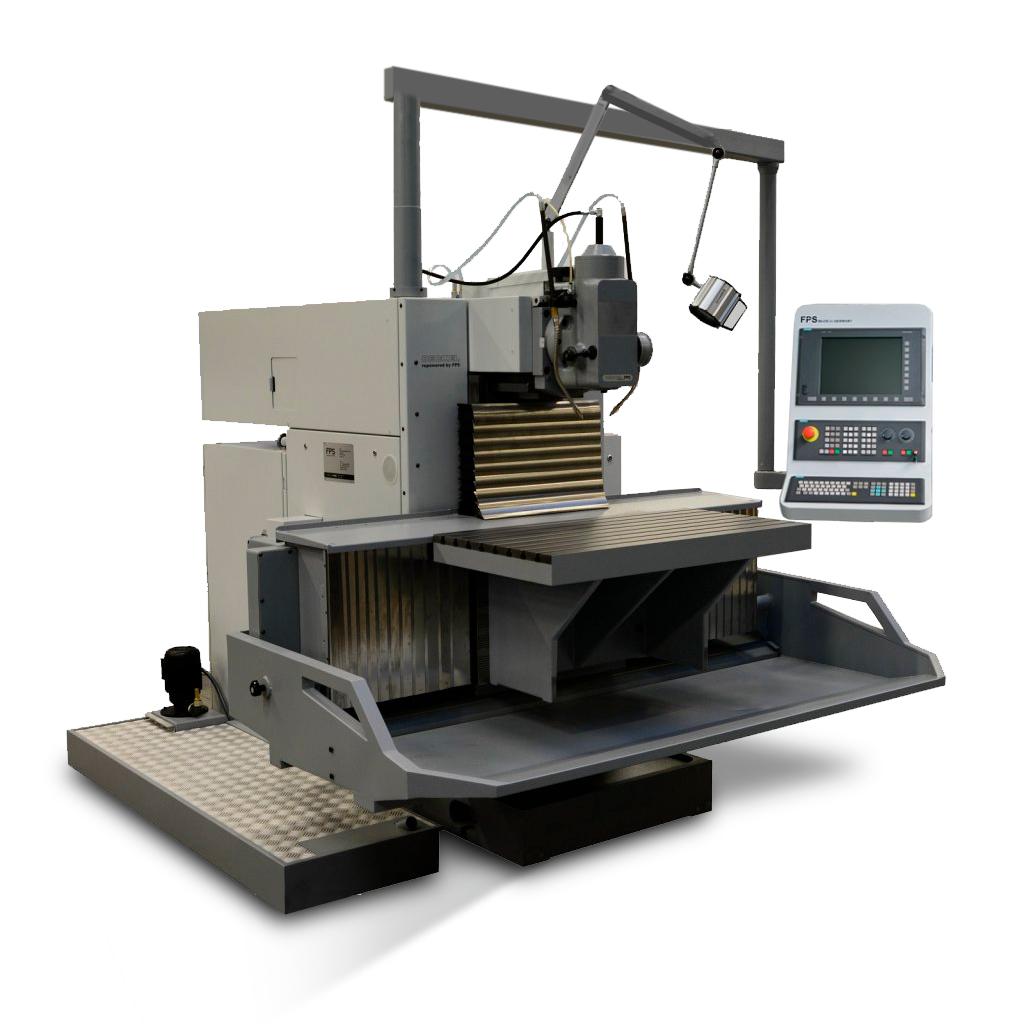 DECKEL FP5 NC 2806 MIT SIEMENS 840D SL STEUERUNG - von FPS generalüberholt - Bedienung CNC ohne Handrad