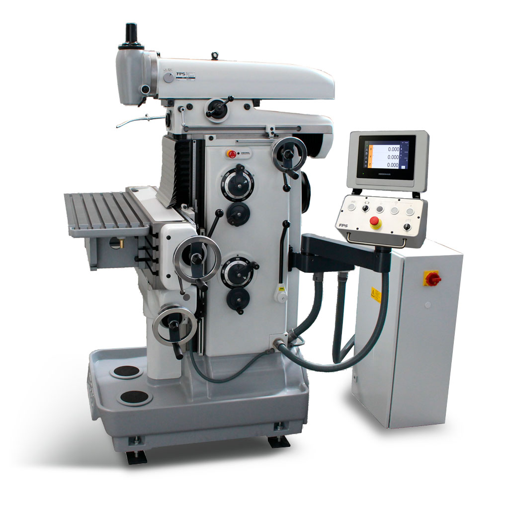 DECKEL FP2 2200 konventionell mit Sonderverfahrweg X 500mm - von FPS generalüberholt - Bedienung manuell