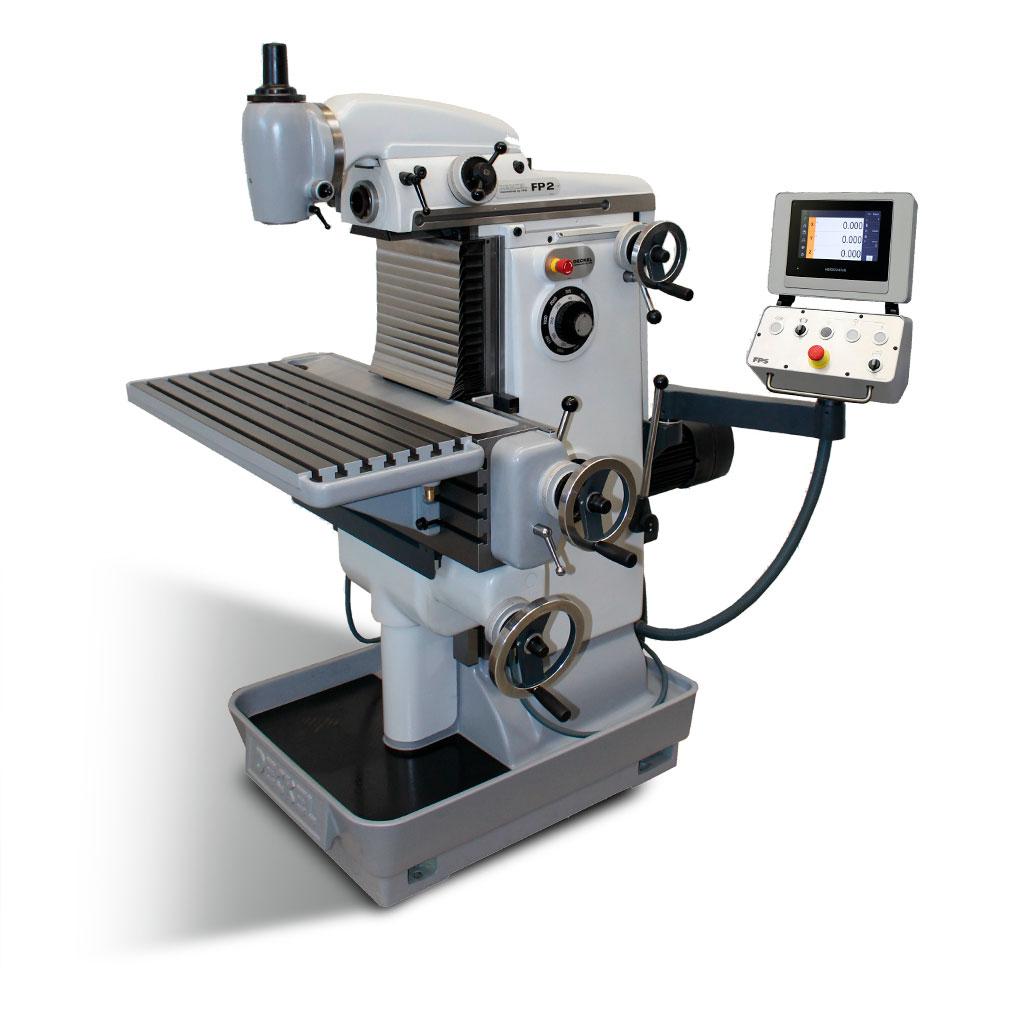 DECKEL FP2 2202 konventionell Standard X-400mm - von FPS generalüberholt - Bedienung manuell