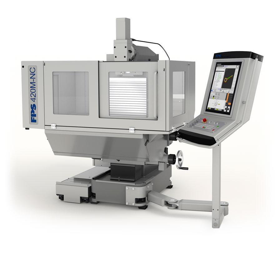 FPS 420M-NC Universal-Fräs- und Bohrmaschine mit CNC-Steuerung SIEMENS 840 D SL oder HEIDENHAIN TNC 620 FS