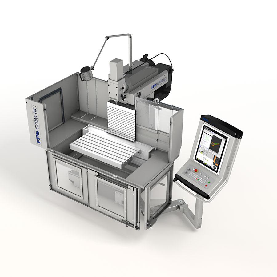 FPS 620M-NC Universal-Fräs- und Bohrmaschine mit CNC-Steuerung SIEMENS 840 D SL oder HEIDENHAIN TNC 620 FS
