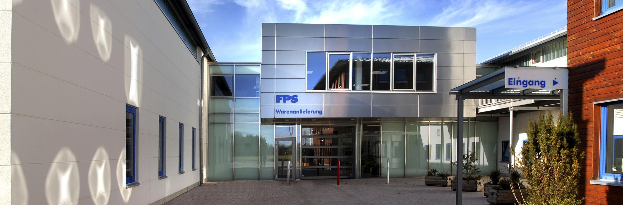 FPS Werkzeugmaschinen Eingang in Warngau